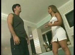 Vídeo de mulher pelada fazendo sexo com o cunhado