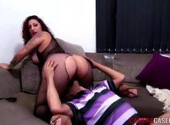 Rabuda no porno com seu amante