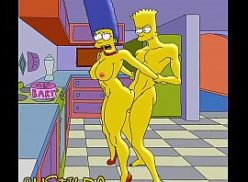 Bart comendo a mãe no simpsons hentai