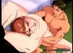 Camaradas no hentai gay fodendo