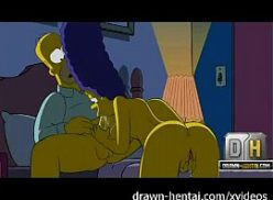 Boa safada no hentai dos simpsons dando para o marido