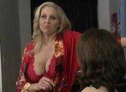 Duas lésbicas em porno romantico
