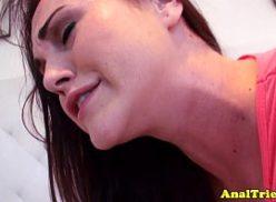 Gata anal novinha dando o cu no sexo